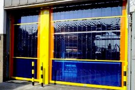 PVC-curtain-doors-kent