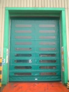green-high-speed-door