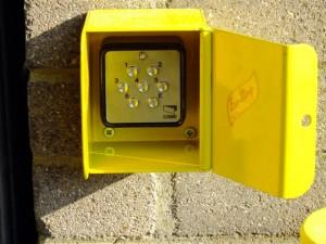 electric-pvc-strip-door-key-pad