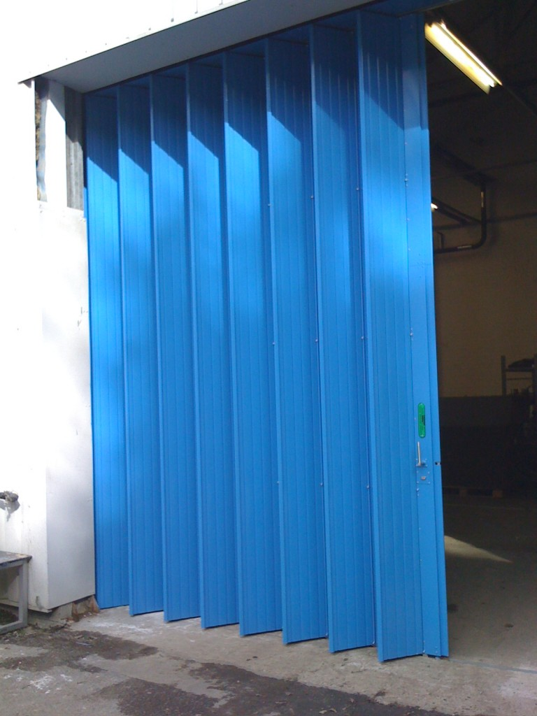 folding-door-blue-768x1024 Roller Shutter Barn Door