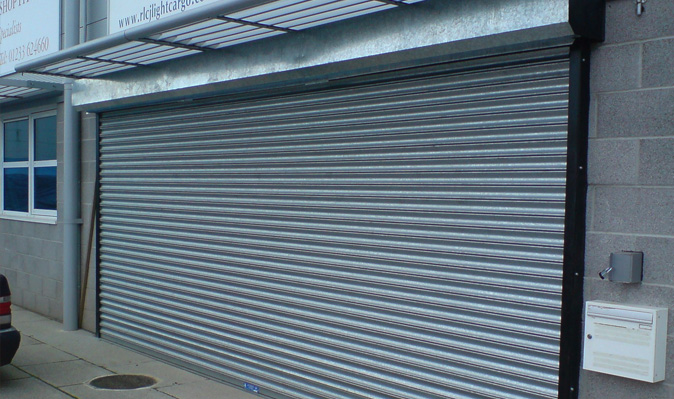 Steel Shutters Industrial Doors Roller Shutters