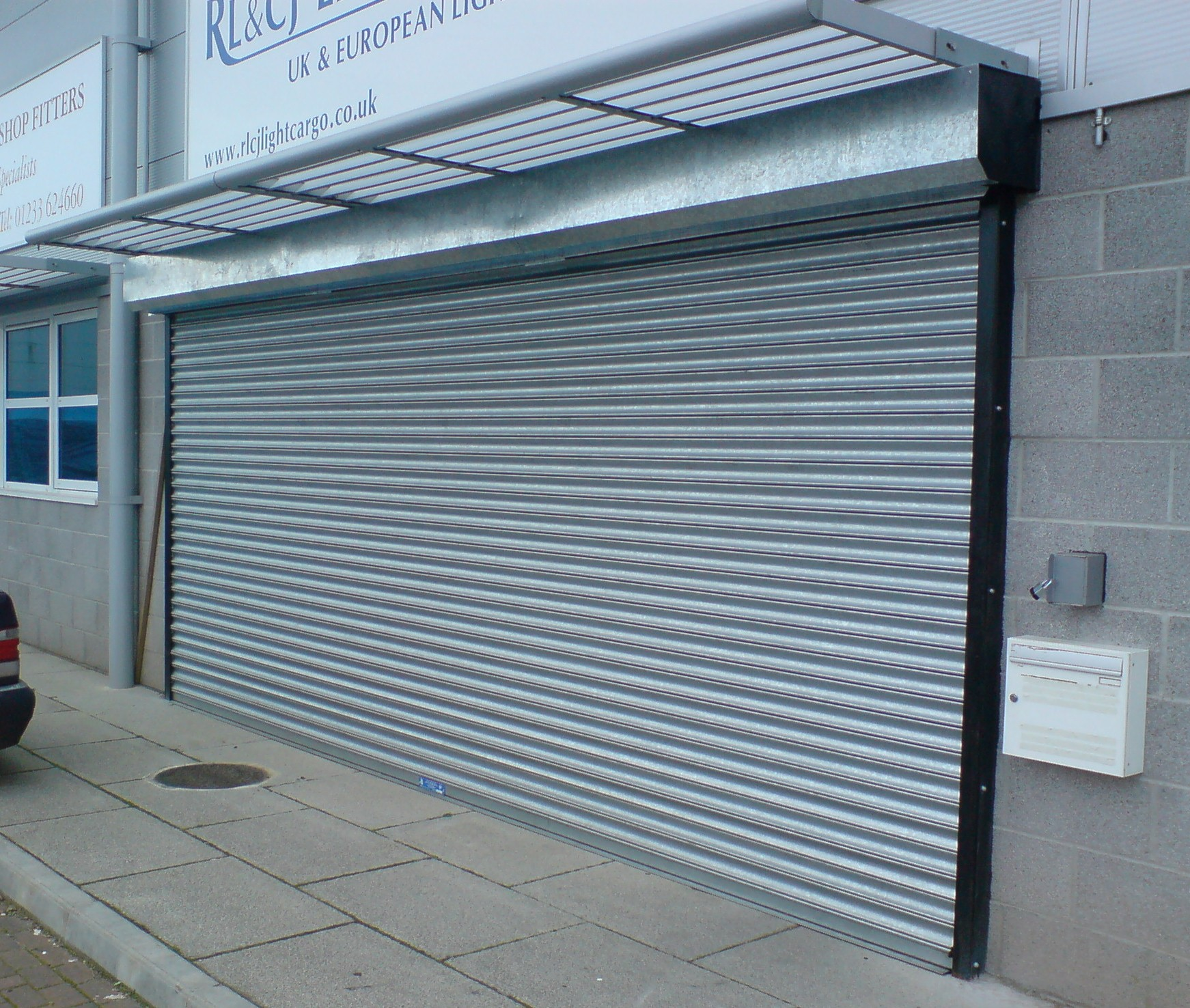 Steel Roller Doors Retail Shutters Shutter Grilles