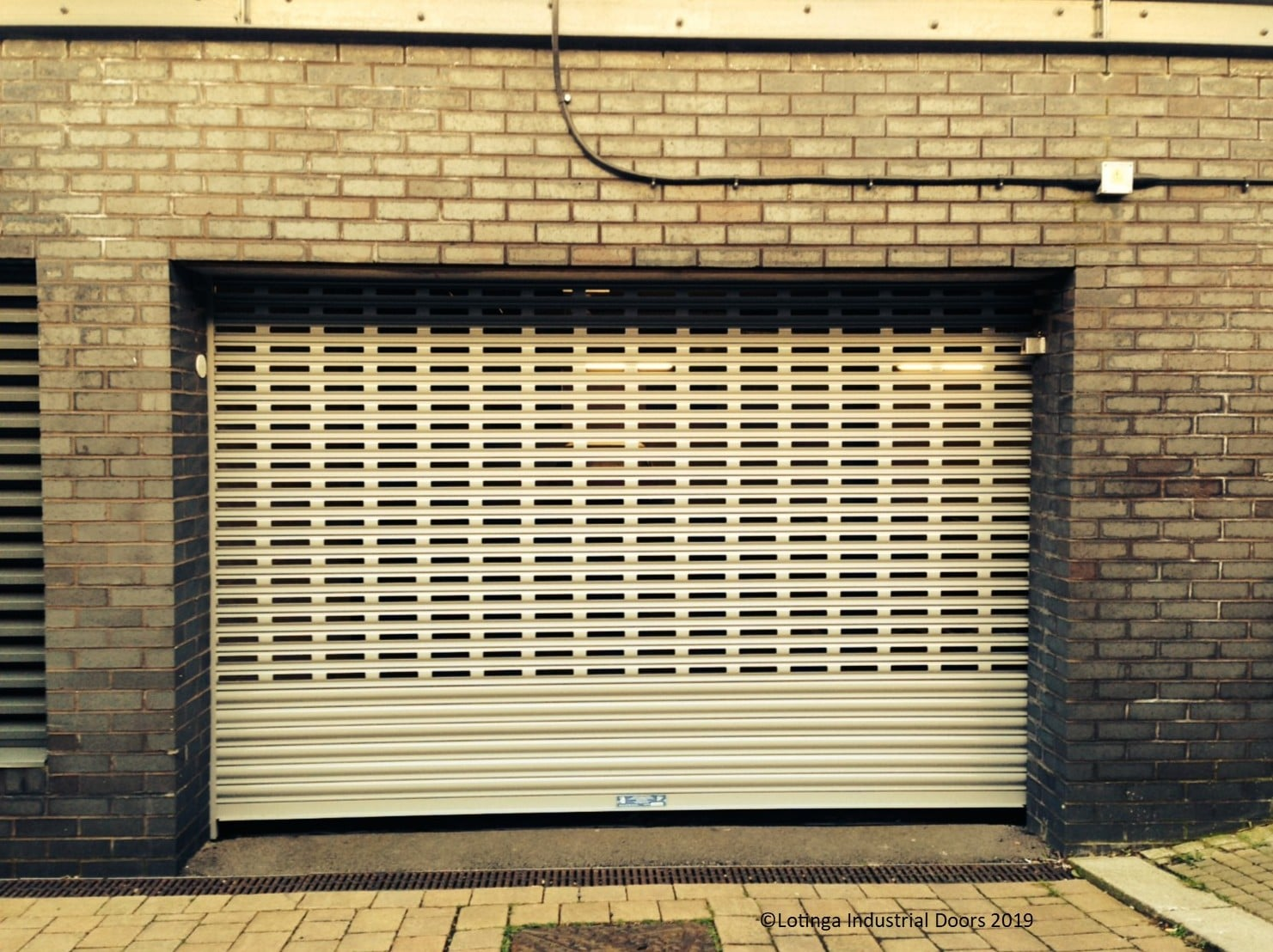 brick-bond-garage-door-C-min Industrial Door Maintenance