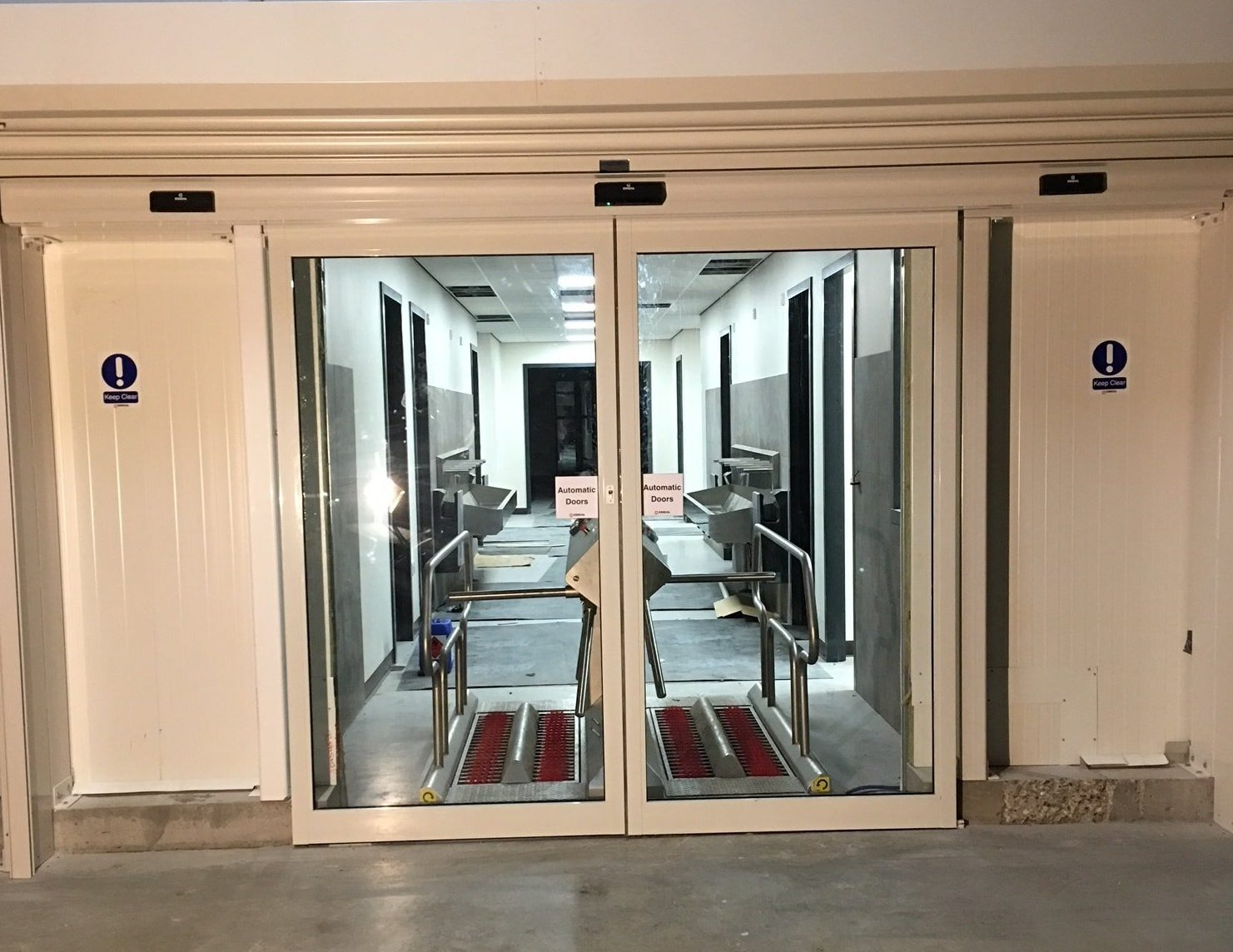Bi-Parting Sliding Door