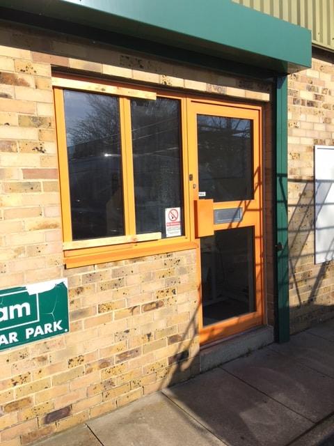 glass-door-replacement-before-grahams-min Aluminium Glass Door Replacement