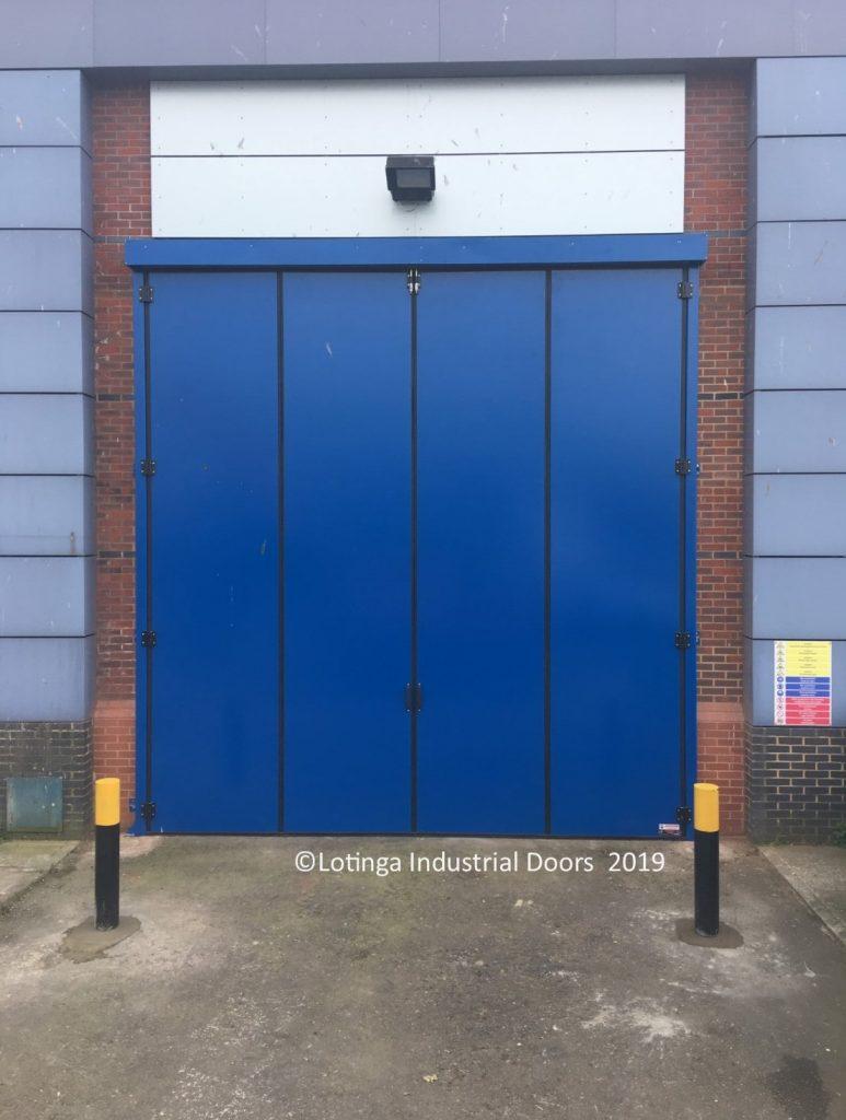 Acoustic Bi-Folding Door