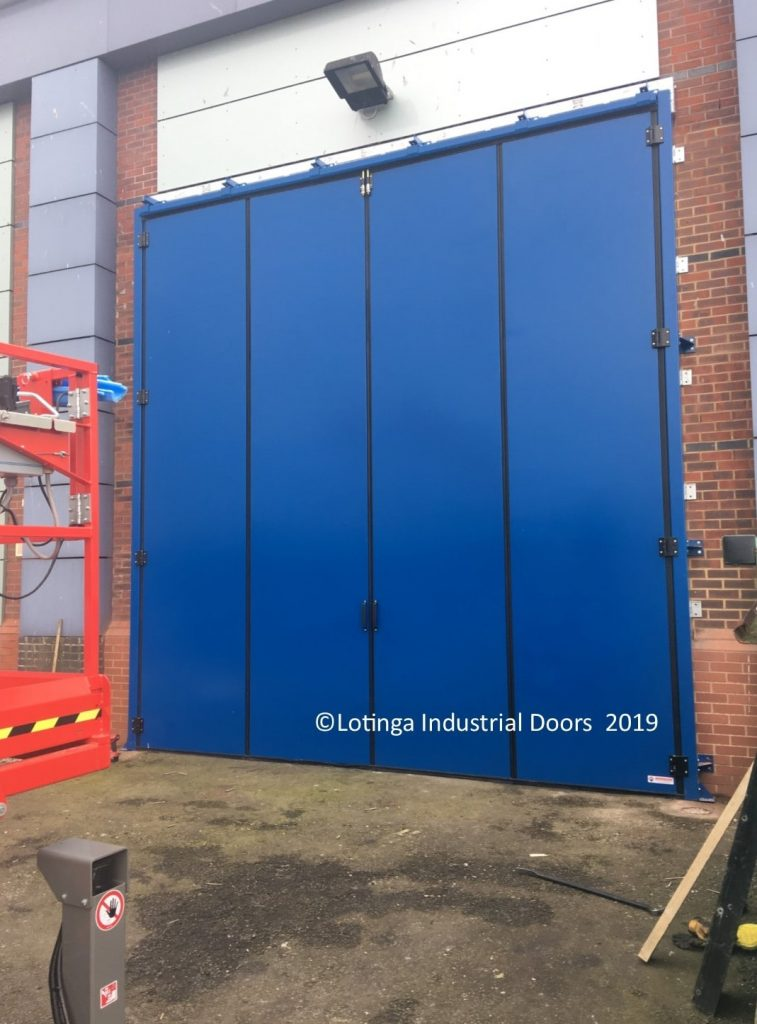 Accoustic Bi-Folding Doors