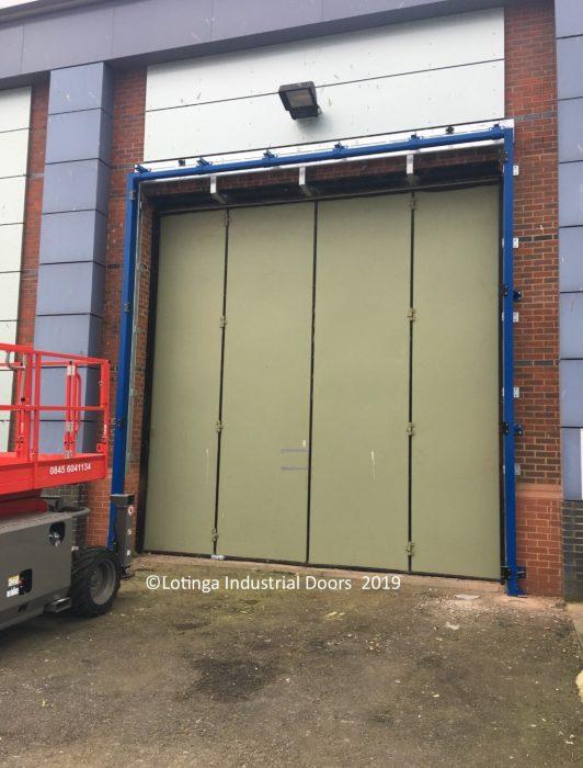 Acoustic Bi-Folding Doors