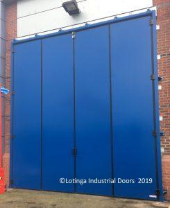 blue-bi-folding-door-min-e1551198927582-245x300 Industrial Bi-Folding Door