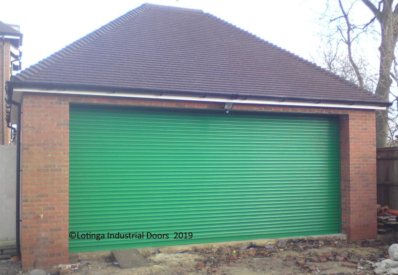 green-domestic-roller-shutter-min Domestic Roller Garage Door