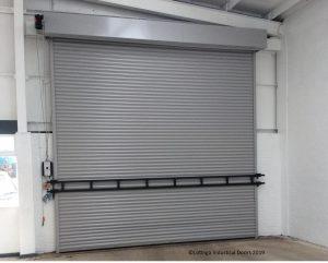 storm-bar-on-shutter-C-min-300x241 Roller Shutter Garage Doors