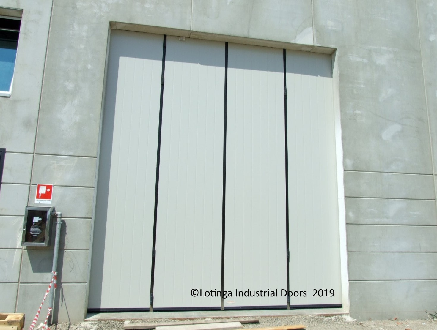 Insulated Shutter Doors