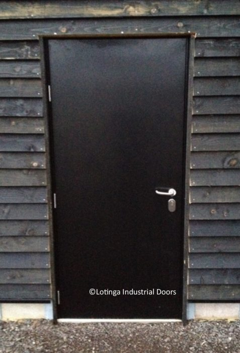 black-steel-personnel-door-min-477x700 Steel Personnel Doors