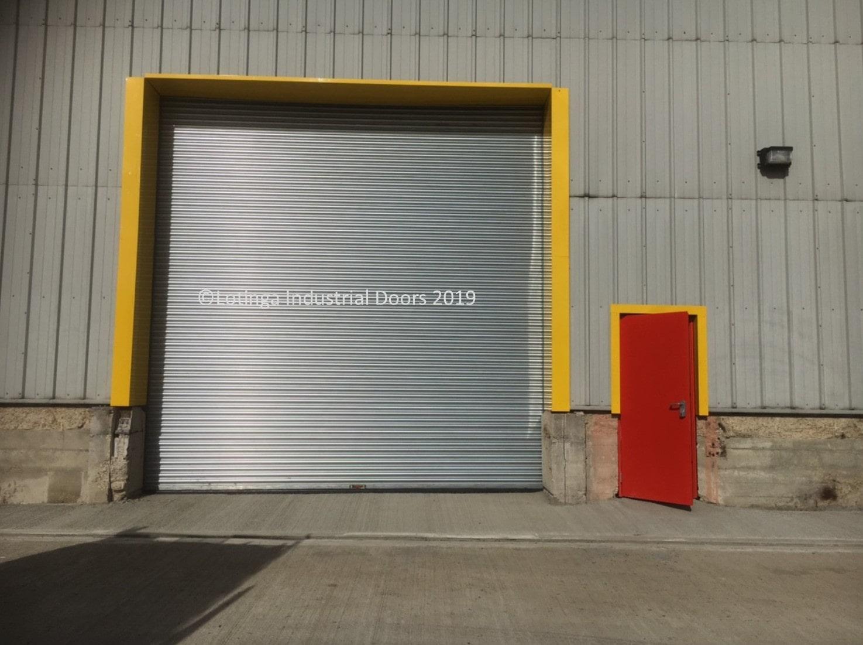 New Opening Personnel Amp Steel Shutter Door Steel Doors