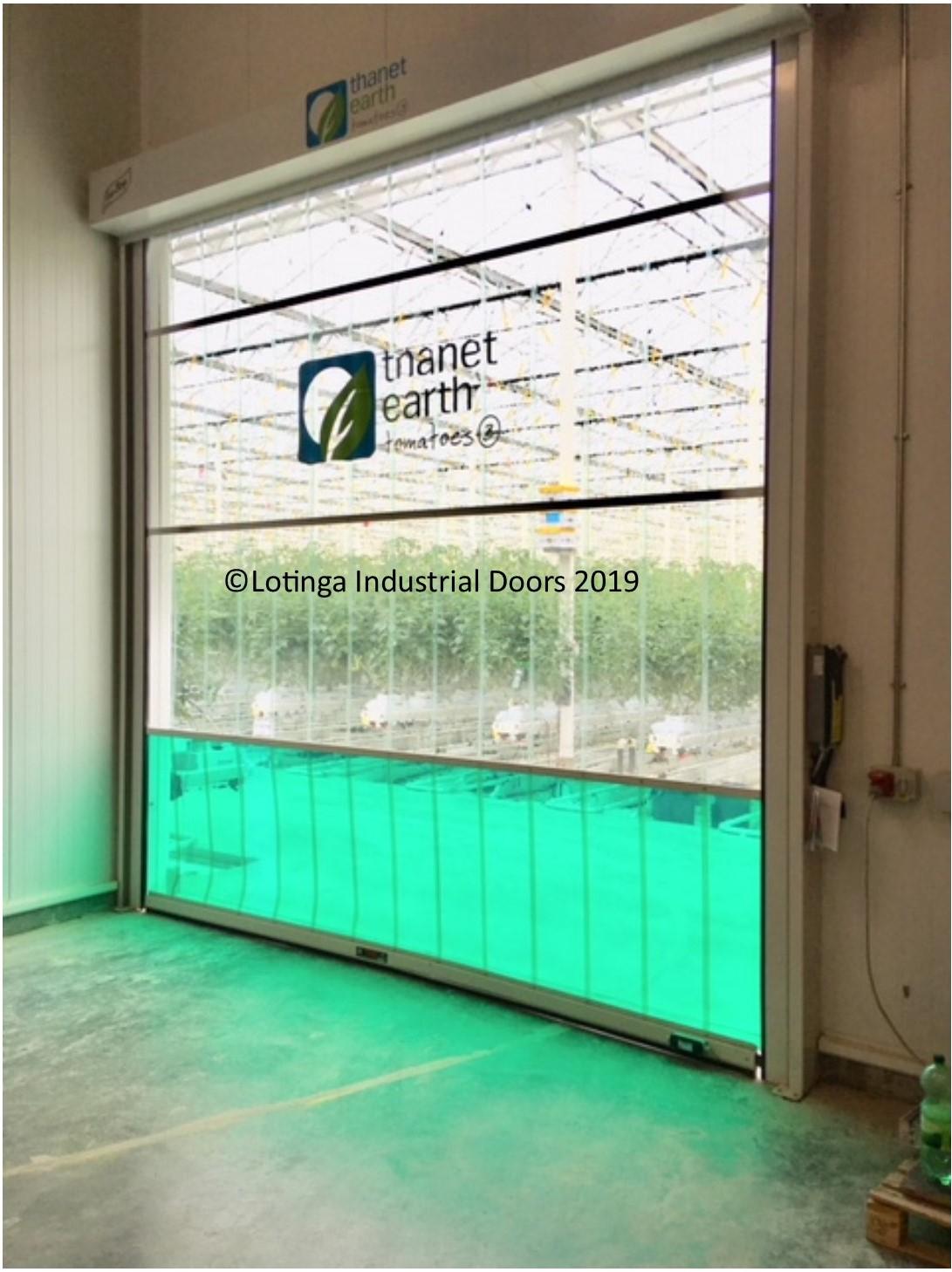 eco-strip-greenhouseC Agricultural Doors