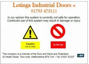 Industrial Door Ethics