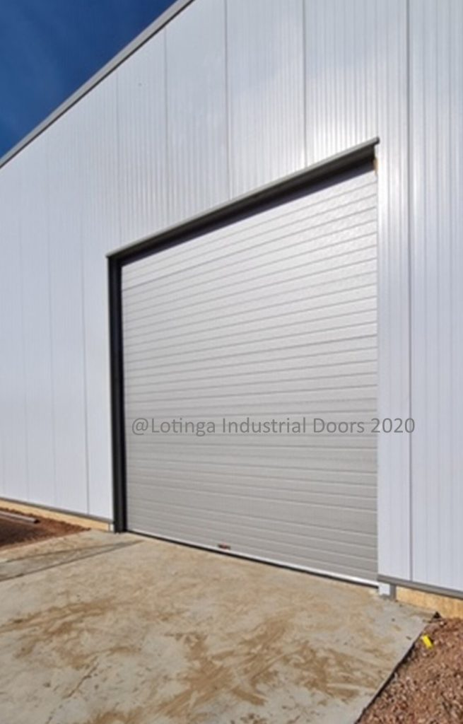 Sectional Agricultural Door