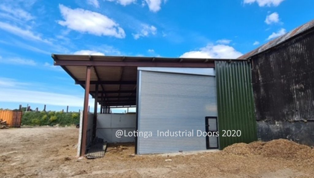 Galvanised Agricultural Shutter