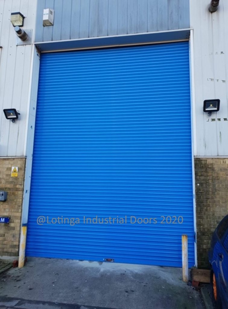 Electric Warehouse Doors