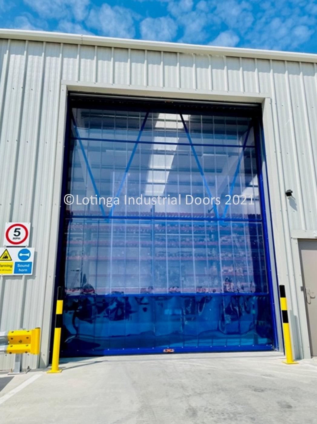 Clear PVC Doors